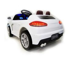 фото детского электромобиля RiverToys Porsche E001EE White сзади