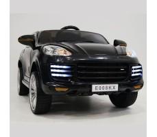 фото детского электромобиля RiverToys Porsche E008KX Black спереди