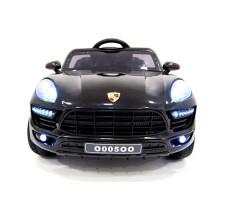фото детского электромобиля RiverToys Porsche Macan O005OO VIP Black спереди