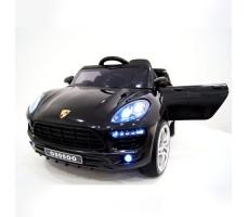 Детский электромобиль RiverToys Porsche Macan O005OO VIP Black