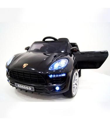 Детский электромобиль RiverToys Porsche Macan O005OO VIP Black | Купить, цена, отзывы