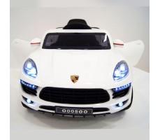 фото детского электромобиля RiverToys Porsche Macan O005OO VIP White спереди