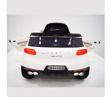 фото детского электромобиля RiverToys Porsche Macan O005OO VIP White сзади