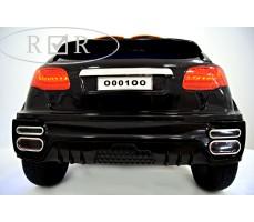 Фото электромобиля Porshe О001ОО VIP-RESTYLING Black вид сзади