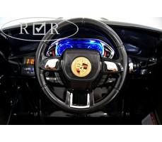 Фото руля электромобиля Porshe О001ОО VIP-RESTYLING Black