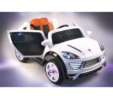 Фото электромобиля Porshe О001ОО VIP-RESTYLING White с открытыми дверьми