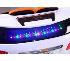 Фото подсветки электромобиля Porshe О001ОО VIP-RESTYLING White