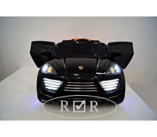 Фото электромобиля Porshe О001ОО VIP-RESTYLING Black с открытыми дверьми