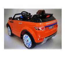 Фото электромобиля River Toys Range O007OO VIP Orange вид сзади