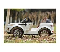 Фото электромобиля River Toys Range O007OO VIP White вид сбоку