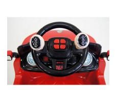 фото руля электромобиля-ходунков Rivertoys Range O444OO Red