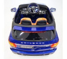 фото детского электромобиля Range Rover Sport E999KX Blue сзади