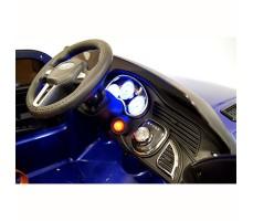 фото руля и панели приборов детского электромобиля Range Rover Sport E999KX Blue