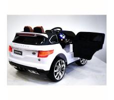 фото детского электромобиля Range Rover Sport E999KX White сзади