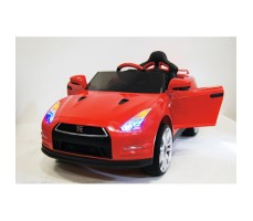 Электромобиль River Toys Nissan GTR X333XX Red