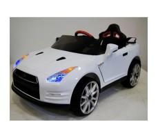 Электромобиль River Toys Nissan GTR X333XX White