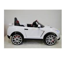 Фото электромобиля River Toys Nissan GTR X333XX White вид сбоку