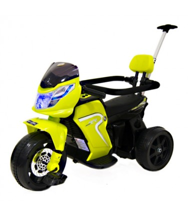 Детский мото-велосипед River Toys O777OO 2в1 Yellow | Купить, цена, отзывы
