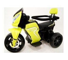 Детский мото-велосипед  River Toys O777OO 2в1 Yellow вид сбоку