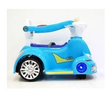 фото электромобиля-ходунков Rivertoys 1688 Blue сбоку