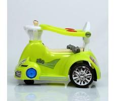 фото электромобиля-ходунков Rivertoys 1688 Lime сбоку