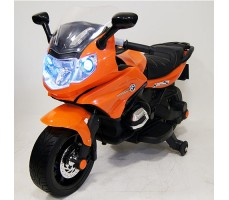 Детский электробайк RiverToys М444ММ Orange