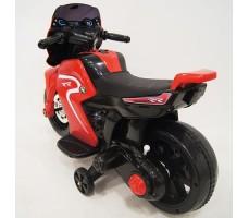 фото детского электромотоцикла RiverToys O888OO Red сзади