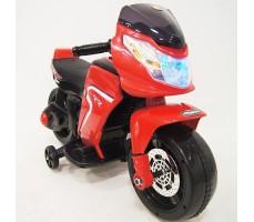 Детский электромотоцикл RiverToys O888OO Red