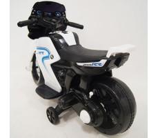 фото детского электромотоцикла RiverToys O888OO White сзади
