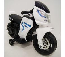 Детский электромотоцикл RiverToys O888OO White