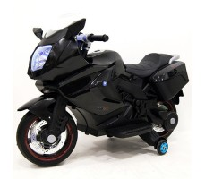Детский электробайк RiverToys Superbike A007MP Black