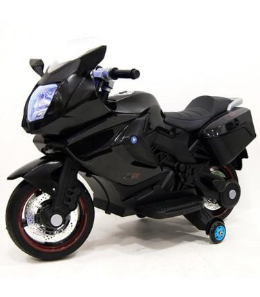 Детский электробайк RiverToys Superbike A007MP Black | Купить, цена, отзывы