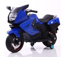 Детский электробайк RiverToys Superbike A007MP Blue