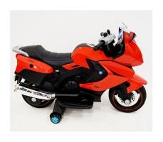 фото детского электробайка RiverToys Superbike A007MP Red сбоку