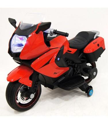 Детский электробайк RiverToys Superbike A007MP Red   Купить, цена, отзывы