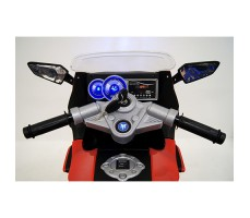 фото руля детского электробайка RiverToys Superbike A007MP Red