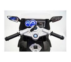 фото руля детского электробайка RiverToys Superbike A007MP White