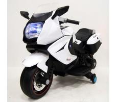 Детский электробайк RiverToys Superbike A007MP White
