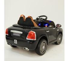 фото детского электромобиля RiverToys RollsRoyce C333CC Black сзади