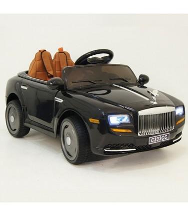 Детский электромобиль RiverToys  RollsRoyce C333CC Black | Купить, цена, отзывы