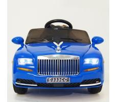 фото детского электромобиля RiverToys RollsRoyce C333CC Blue спереди