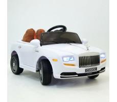 Детский электромобиль RiverToys RollsRoyce C333CC White