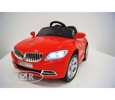 Фото электромобиля RiverToys BMW T004TT Red вид спереди