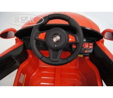 Фото руля электромобиля RiverToys BMW T004TT Red