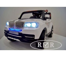 Фото электромобиля RiverToys BMW T005TT White вид спереди