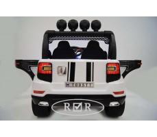 Фото электромобиля RiverToys BMW T005TT White вид сзади