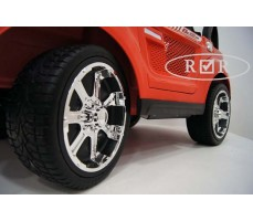 Фото колес электромобиля RiverToys BMW T005TT Red