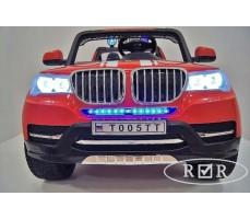Фото бампера электромобиля RiverToys BMW T005TT Red