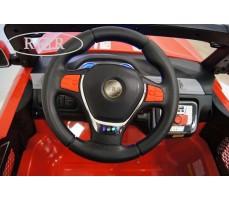 Фото руля электромобиля RiverToys BMW T005TT Red