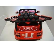 Фото электромобиля RiverToys BMW T005TT Red вид сзади